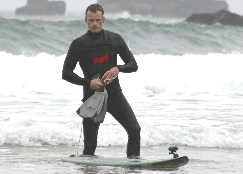 Rich Smith NCW team kneeboard surfer