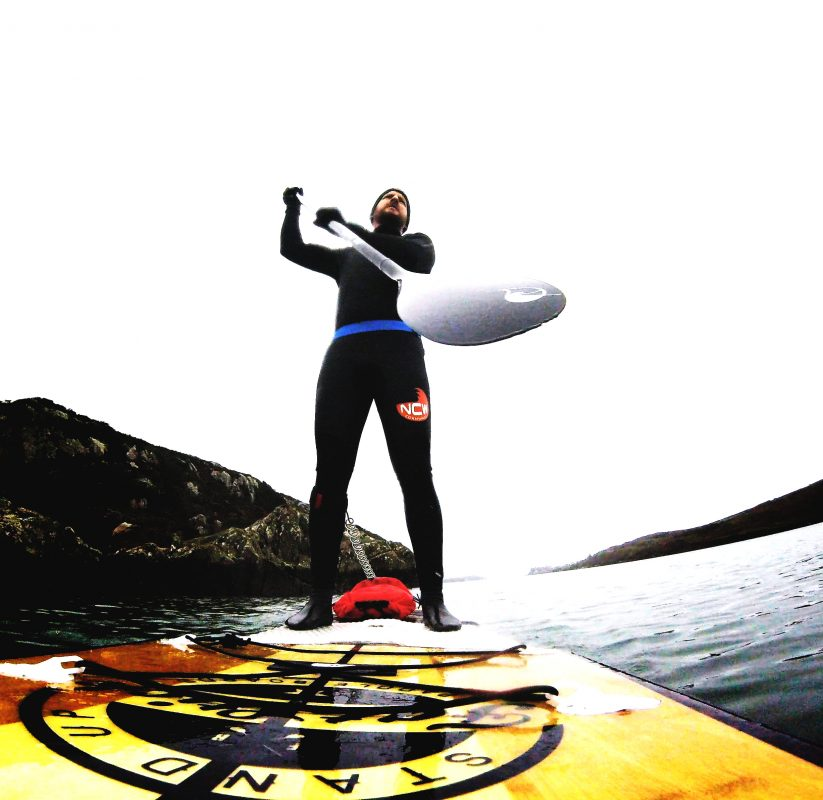 Dave Ludgate SUP rider