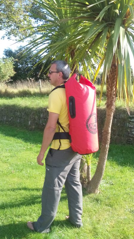 50l HD PVC drybag rucksack with removable straps