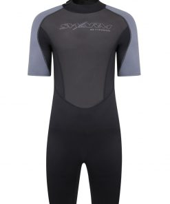 2021 swarm mens 3mm shorty wetsuit