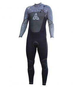 O'Shea Cyclone I 543 full winter chest zip wetsuit grey