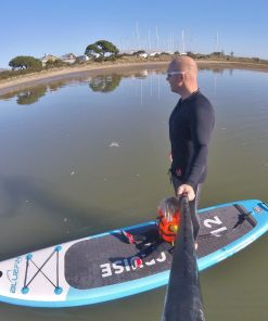 3mm super stretch neoprene zip up wetsuit SUP jacket