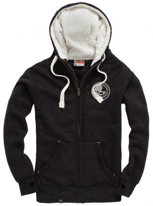 NCW sherpa fleece hoodie