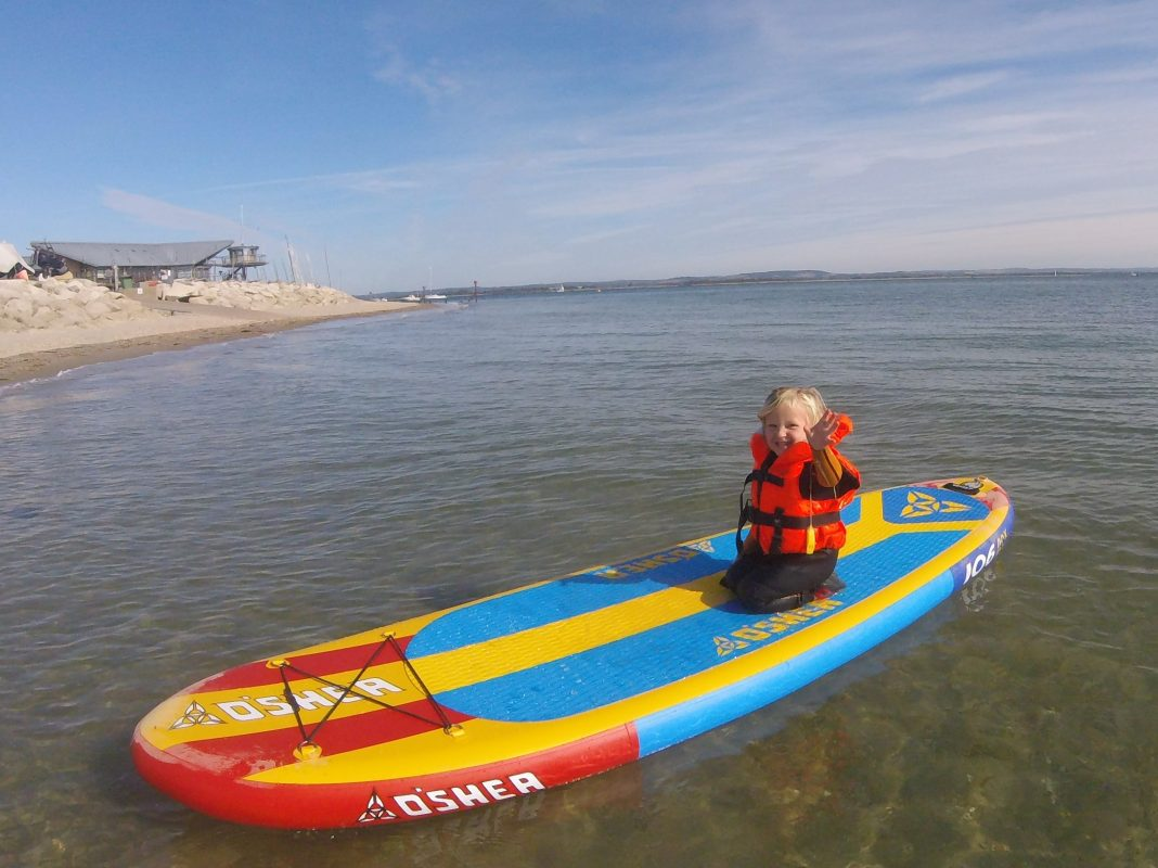 stand up paddle board safety with NCW