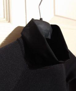 Kids 1.5mm neoprene long sleeve rash vest collar