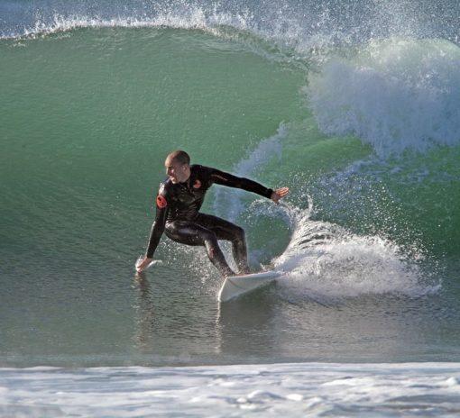 NCW 53 winter steamer wetsuit mini front zip