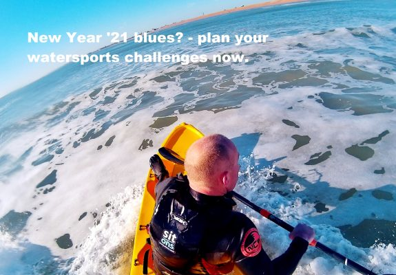New Year '21 blues - plan your watersports challenges now.