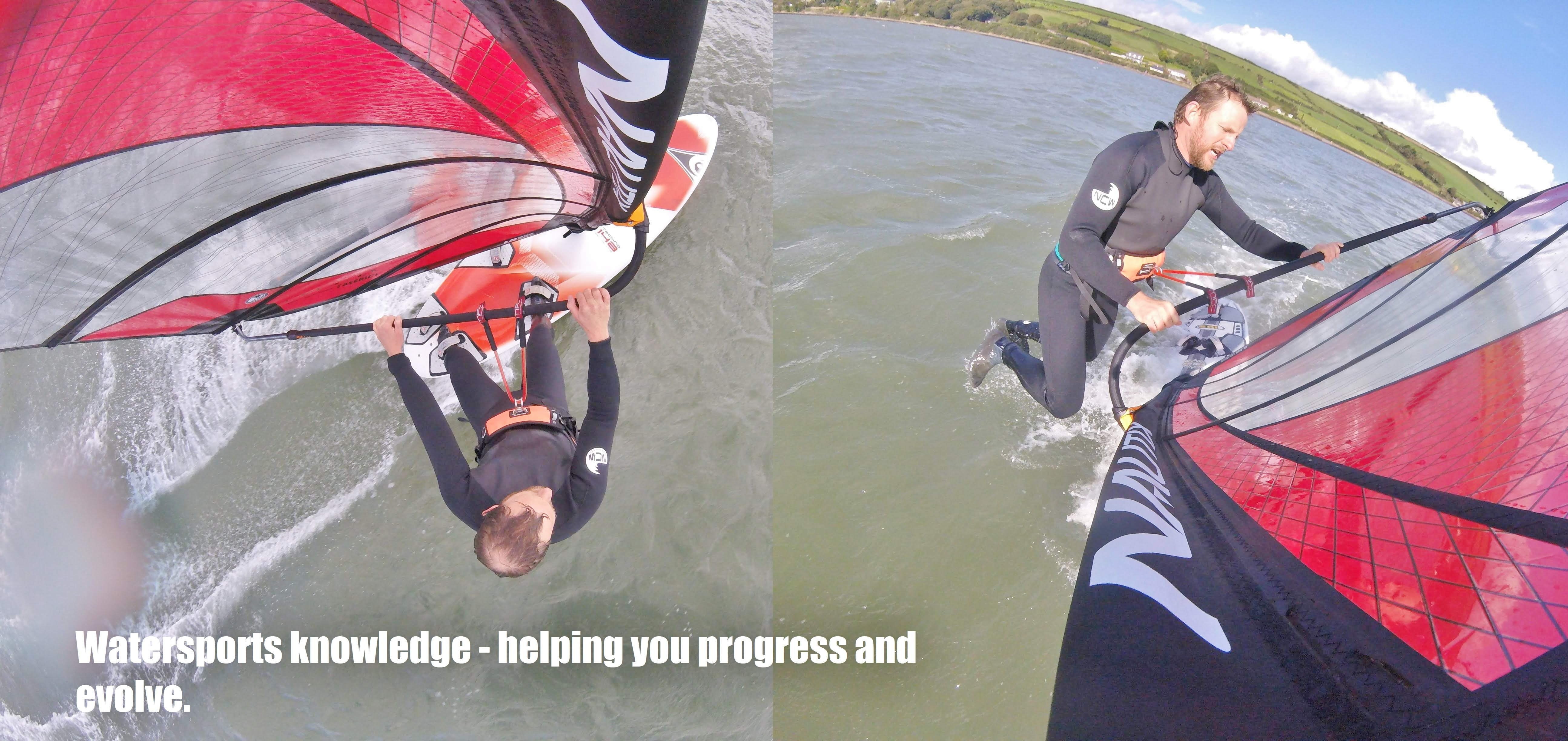 Watersports knowledge - helping you progress and evolve.